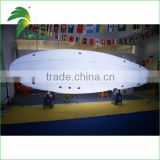 Outdoor RC Airship / 6m Long Inflatable White Led RC Airship For Evert