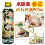 Best-selling Kinbue soy sauce base of Japanese seasoning soup using for various food 500ml