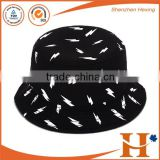 custom high quality embroidery fishing hat and cap,100% cotton twill bucket hat custom
