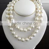 Fine costume jewelry-fresh water pearl beads necklace Customized hot sell large single pearl necklace