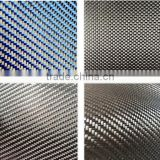Red Green Blue Carbon Kevlar Hybrid Cloth Fabric Wholesale