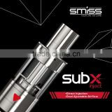 Latest Electric Vaporizer Smiss SUBX Inject Huge Vapor Tank e cigarette ultrasonic atomizer