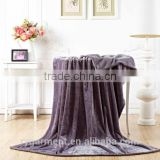 Eco-Friendly Super Soft Knitted Baby Blanket babi travel knit blanket