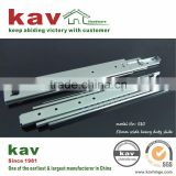 71mm wide ball bearing extra heavy duty sliding rail for goods shelf of warehouse cabinet