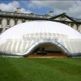 Hot sale giant inflatable dome event tent for outdoor exhibition, inflatable white dome tent, inflatable projection tent