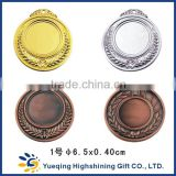 Good quanlity and price zinc alloy gold silver bronze souvenir blank metal medal                                                                         Quality Choice                                                     Most Popular