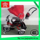 china new child tricycle/3 wheel baby tricycle stroller/children tricycle with foldable canopy