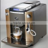 Cappuccino Automatic Coffee Maker With Visible Operation System (LCD) and 10 languages function