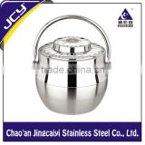 Metal Stainless Steel Insulated Food Tiffin Carrier
