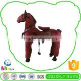 Wholesale High Standard Funny Plush Mechanical Horse Toys