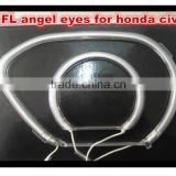 ccfl angel eyes for honda civic with non projector ccfl angel eyes halo headlight for honda civic 2006