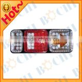 LED Plastic Tail Light with Arrow and Colorful Side for Junengwang (BMHM-027) Size:405*150*40cm