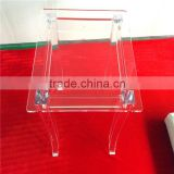 Clear acrylic transparent vanity shower stool                                                                         Quality Choice