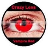 the most HOT selling korean halloween crazy contact lenses vampire eye contacts red contact lens
