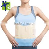 top quality back support, breathable soft material back support belt, healthcare lumbar support soft and comfortable