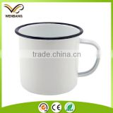 Cast iron, iron metal type and metal material enamel mug