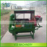 Movable agricultural grain sheller machine for sale, rice wheat soybean buckwheat sheller and thresher machine cheap price