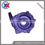 high quality hot sale grey iron cast and nodular iron cast casting, middle shell casting , middle housing casting