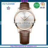 FS FLOWER - High Level Watch Can Custom Logo Watches Quartz Watch Stainless Steel Case Back Watch
