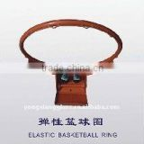 Elastic basketball rim For Backboard systems