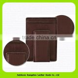 15648 Wholesale new year promotional gifts fashionable money clip wallet with card slots