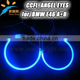 131MM&145MM E46 A+B CCFL Angel Eyes for BMW, High Quality & Best Price Automotive Accessories car headlights ccfl angel eyes