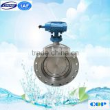 Teflon PTFE PFA FEP Lined/Lining Wafer Type Resilient 1 inch Butterfly Valve for Corrosive Chemical Industry