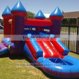 New style commercial castle combo bounce house