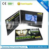"Custom Printing 2.4-10.1"" LCD Birthday Invitation Card China Wholesale Video Birthday Card"