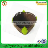 Decorative Plant Flower felt fabric Grow Pot