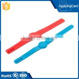 Various colors RFID patients/ babies/ tourist identification wristband RFID medical ID wristband