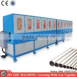10 group Stainless steel round tube buffing machine