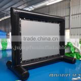 Inflatable Projection Screen for advertising and Inflatable Billboard 2 in 1 for outdoor Movie Screens