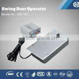 OW180 electric floor spring concealed door closer for glass door