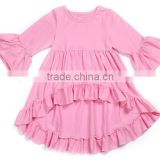 Kapu new fashion baby girl petti top fancy design favorable price with soft fabric made in China