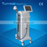 1-10HZ Portable Diode Laser Hair Removal Underarm Machine Prices For White Hair 8.4 Inches Medical
