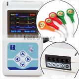 ECG Holter recorder 3 Channel with free analysis software CD 24 hour recording time Supplier