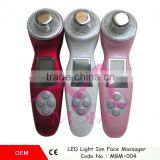 Zhengzhou Gree Well Photon Rejuvenation Lights Sonic Face Lift Care Skin Cleaner Wrinkle Remover Facial Beauty Massager