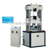LCD digital display type universal testing machine hydraulic clamping four pillar host