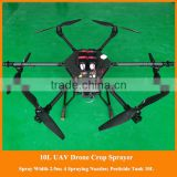 rc drone helicopter sprayer 2016 newest gps professional rc drone, uav drone crop duster for pesticide spray