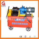Construction used rebar rib-peeling and threading machine