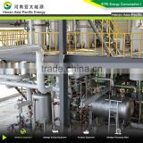 Biodiesel production plant, equipment making biodiesel from cooking oil