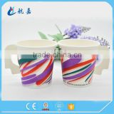 disposable handle paper cups and saucers,takeaway coffee cups wholesale,disposable cups with lids