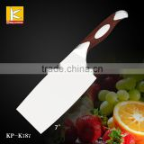 Hot sales High quality 3cr13/German 1.4116 stainless steel blade kitchen knife cleaver knife with G10 petent handle