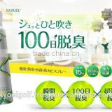 Super power, effective, with photocatalyst and effective natural plant extracts, wholesale deodorant from Japan