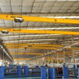 high efficiency single girder eot crane remote control