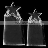 wholesale blank crystal rose iceberg award /trophy For Souvenirs Office Decoration JKC-0122