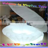 Stage/party/event led inflatable shell flower