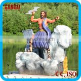 Water park statues of Zeus for sale