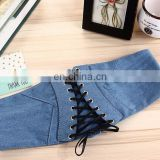 Fashion Denim belt waist cincher wholesales